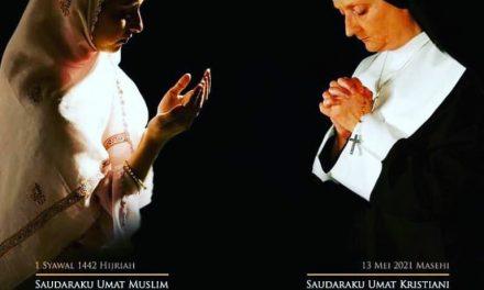 Selamat Hari Raya Idul Fitri dan Selamat Hari Kenaikan Isa Almasih